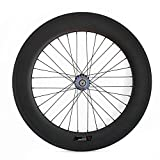 Best Carbon Wheels - JIMAITEAM Carbon Fixed Gear Rear Wheel 700c Rim Review