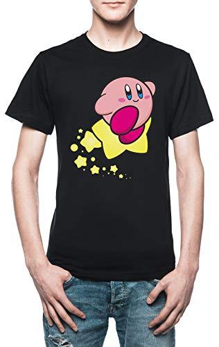 Reiten auf Kirby Herren T-Shirt Schwarz