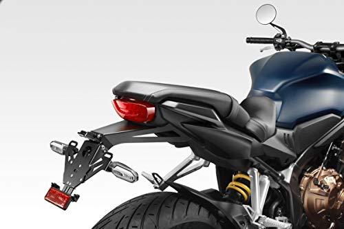 CB650R 2021 - Kit International Kennzeichenhalter (R-0934) - Einstellbare Nummernschild Halter - inkl. Hardware-Bolzen - Motorradzubehör De Pretto Moto (DPM Race) - 100% Made in Italy