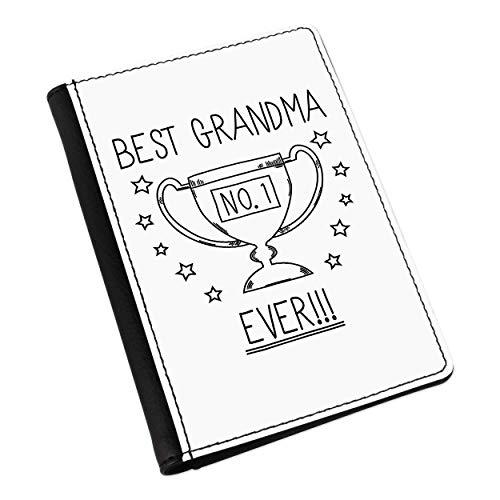 Best Grandma Ever No.1 Trophy Passport Holder Cov
