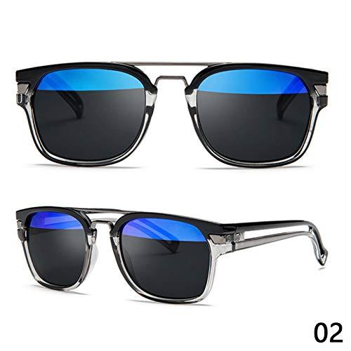 Gafas de Sol Gafas De Sol Polarizadas De Moda Hombres Mujeres Gafas De Sol De Conducción De Plástico Cuadradas Clásicas Moda Masculina