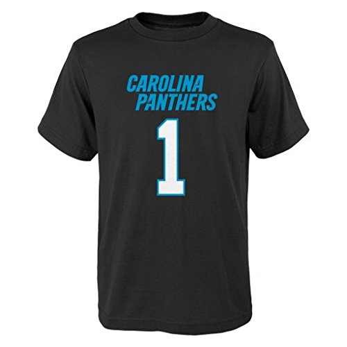 31f60862 Outerstuff NFL Cam Newton # 29 Youth Boys 8-20 Name & Number Short Sleeve  Tee