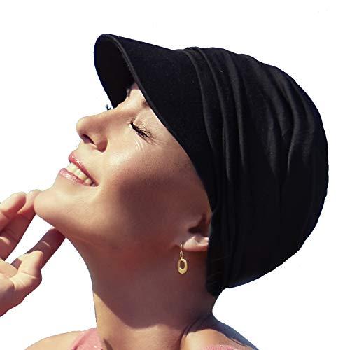 Christine Headwear Gorra oncológica Ultra transpirante Bella con Visera y Technology 37.5® para...