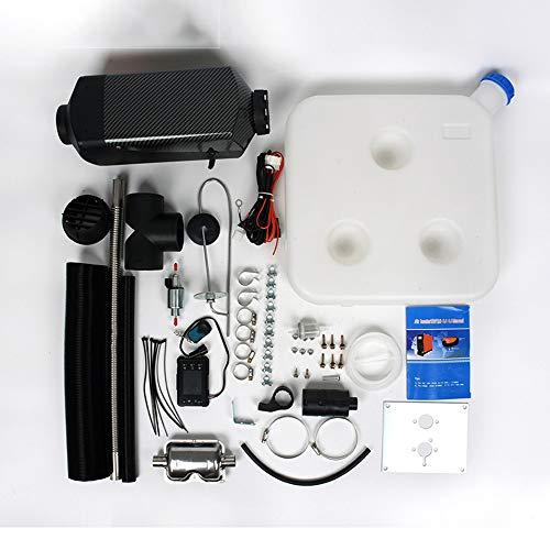 LZHYA Calentador De Estacionamiento Diesel, 5KW 12V, Pantalla LCD, Control Remoto, Accesorios Completos,Calentador De Aire Diésel, Calefacción Estática Furgoneta Diesel Calentador Coche