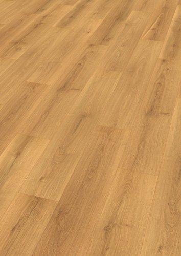 EGGER Home Designboden braun - Eiche velvet EHD004 (5mm kompakt, 1,989 m²) Klick Design Laminat robust, strapazierfähig, pflegeleicht, wasserfest und PVC frei