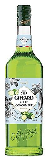 GIFFARD Bar Sirup 1,0 l - Sirup GURKE (Concombre) - Mixen/Mixgetränke/Cocktails