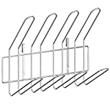 Pusdon Stainless Steel Over Sink Dish Drying Rack DIY Parts - Cup Holder, Silver