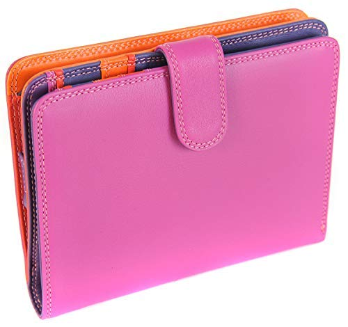 Mywalit ,  Unisex-Erwachsene Damen Kinder Damen-Geldbörse mehrfarbig Sangria Multi L
