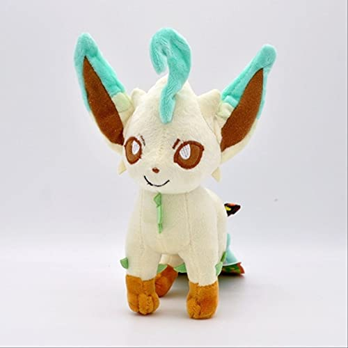 Ruiodr Peluche de Juguete Glaceon Leafeon Umbreon Espeon Jolteon Vaporeon Flareon Pokemon Sylveon Pikachu Pocket Monster Poké Gift 22cm A
