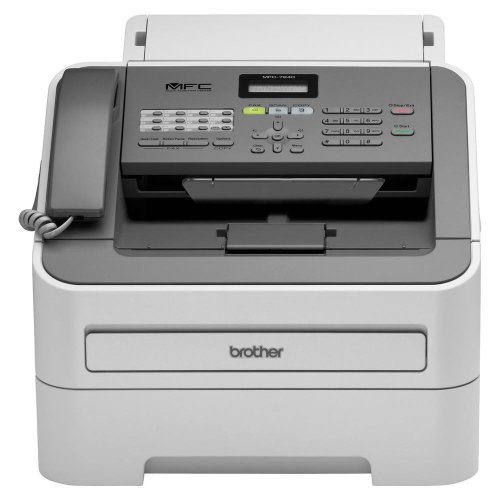 Best Bargain Brother Printer MFC7240 Monochrome Printer with Scanner, Copier and Fax,Grey