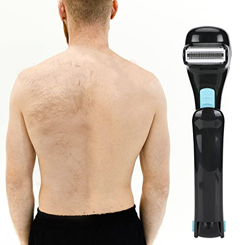 """Electric Back Hair Shaver 14.7"""" Extra Long Foldable Body Hair..."""