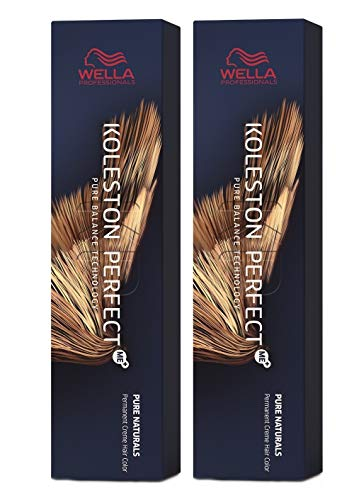 Wella 2 er Pack Koleston Perfect Me+ KP PURE NATURALS 3/0 dunkelbraun