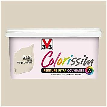 Peinture V33 Colorissim Satin Beige Calcaire N 16 2 5 L Amazon Fr Bricolage