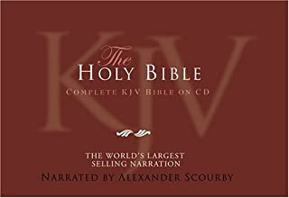 KJV Complete Bible-Nylon Zip (60 CD + 1 DVD)