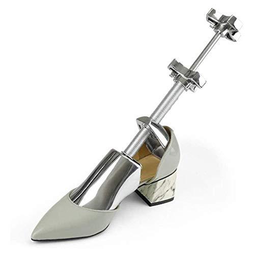 SJYSD-Bath Mat Zapatero 1 Juego Unisex Aleación de Aluminio Ensanchador de Zapatos Camilla Zapatero Formador de árbol Zapatos de Metal para Mujer para Hombre Árbol 10 (Color: L 39 45)