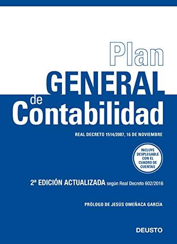 Plan General de Contabilidad: Real Decreto 1514/2007, 16 de noviembre (Sin colección)