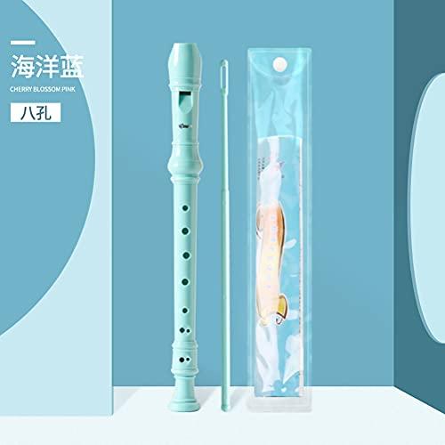 Gyj&mmm 6/8 Hoyos ABS Soprano Grabador, Flauta Vertical C...