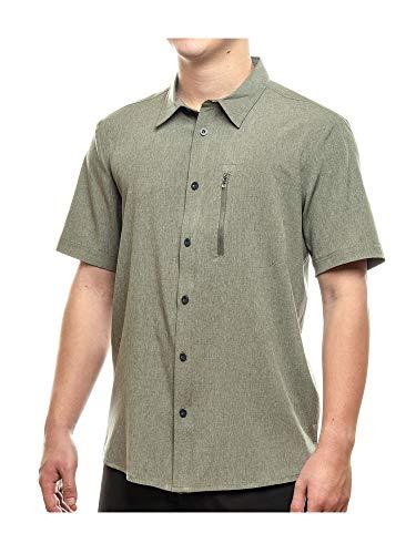 ZeroXposur Traveler Stretch Shirt - Men's, Heather Loden, XX-Large
