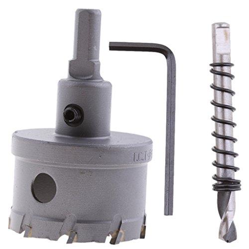 Hartmetallspitze Werkzeug Edelstahl Bohrer Metall Spiegelschneider Lochsäge - 50mm