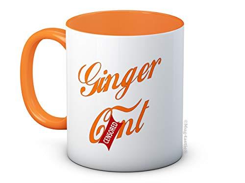 Ginger C*nt - Rude Funny Ceramic Coffee Mug (Kitchen & Home)