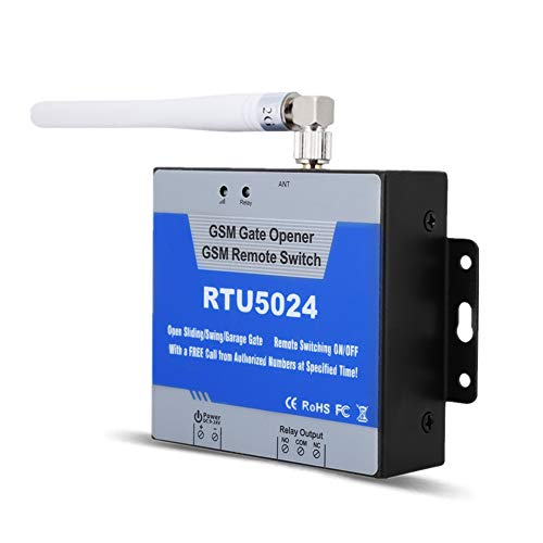 GSM Gate Opener, RTU5024 GSM Mobile Phone Access Controller Remote Control Switch SMS Door Control