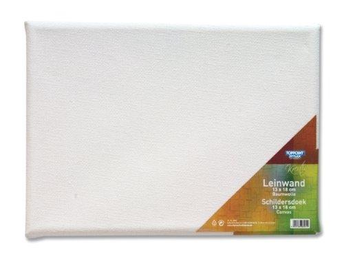 4 Leinwände Leinwand bespannte Keilrahmen 13x18cm