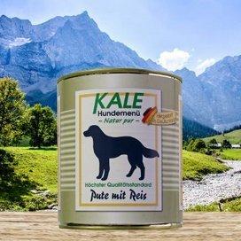 Kale Nassfutter Classic Pute mit Reis 800g (6 x 800g)