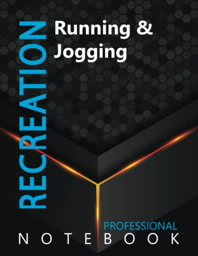 """Compare Textbook Prices for Recreation, Running & Jogging Ruled Notebook, Professional Notebook, Writing Journal, Daily Notes, Large 8.5"""" x 11"""" size, 108 pages, Glossy cover  ISBN 9798496658317 by ProSportz Cre8tive Press"""