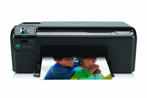 HP Photosmart C4780 All-in-One Printer - Impresora multifunción (De inyección de tinta, Escanear, Copiar, Escanear, Copiar, Imprimir, 9 ppm, 6.5 ppm, 29 ppm)