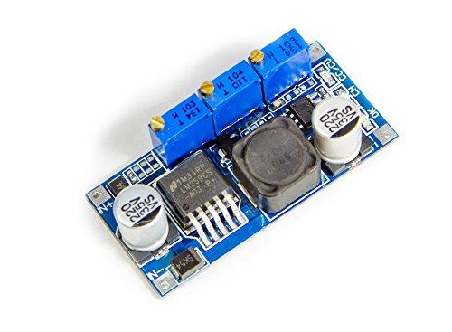 DC-DC Spannungsregler Strombegrenzer blau LM2596S von3,2-40V nach1,25-35V Arduino BEC