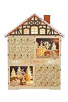 CLASSICA DECORAZIONE NATALIZIA: Questo calendario dell'Avvento Clever Creations è perfetto per portare una briosa atmosfera natalizia in casa tua. Questo calendario darà sicuramente un tocco esplosivo al tuo ambiente e porterà nella tua casa tutto lo...