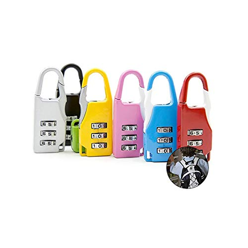 Zhi Jin 12Pack Travel Combination Lock Luggage Padlock Code Set Bulk Sports Baggage