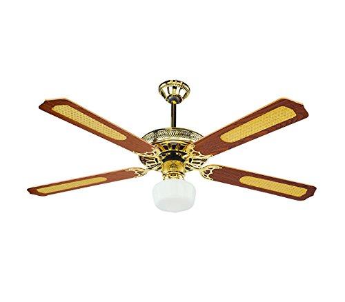 VECRD43TL Ventilatore da soffitto DCG con luce e telecomando quattro pale 65W. MEDIA WAVE store