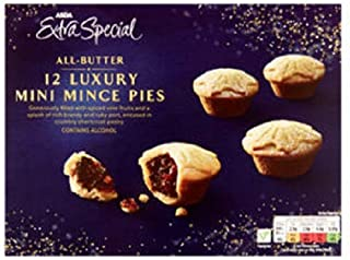 ASDA Mince Pies Extra Special All Butter Luxury - 12 Pk