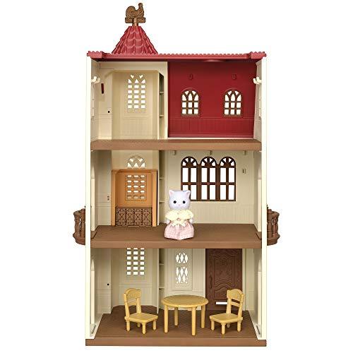 Sylvanian Families - Le Village - La Maison Avec Ascenseur - 5493 - Maison de Poupée - Mini Poupées