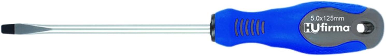 hufirma 3895010 krom-vanadium-skruvmejsel 4 x 100 mm, ljusblå