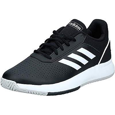 Adidas Courtsmash, Zapatillas de Tenis Hombre, Multicolor (Negbás/Ftwbla/Gridos 000), 40 EU