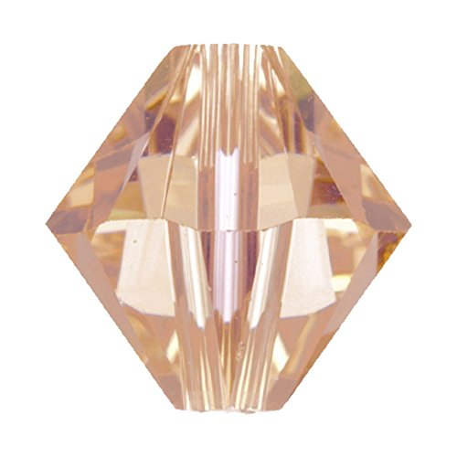 Swarovski 5328 – 4 mm bicono Swarovski Beads – Light Peach – 20PK