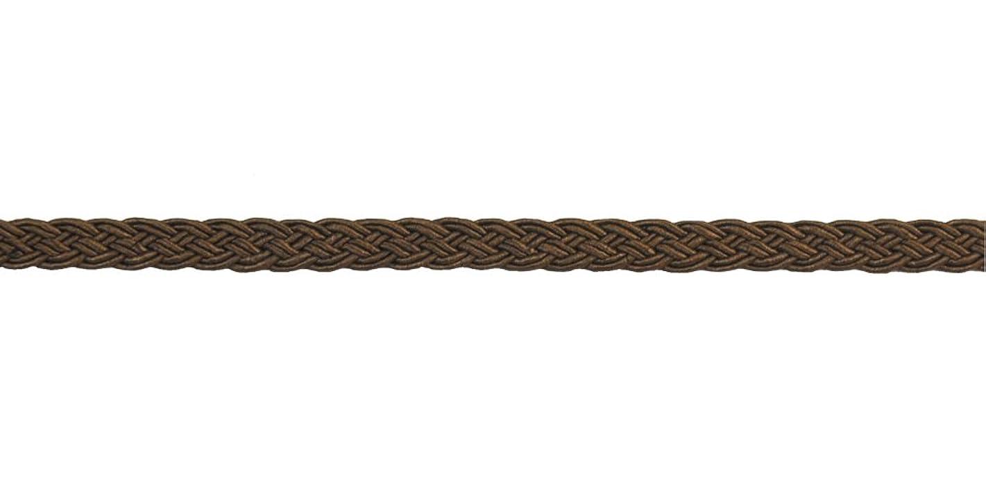 Belagio Enterprises 3/8-inch Woven Braid Trim 50-Yard, Brown