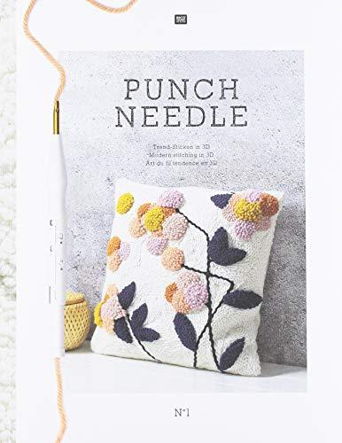 speciale lana Rico Design Ago Punch Needle 19 cm