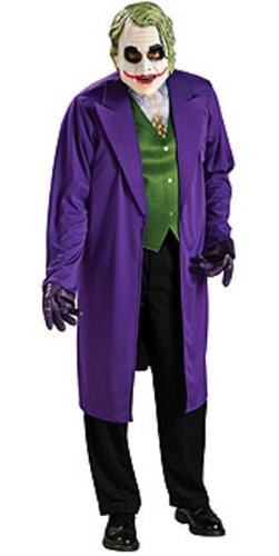 Male Fancy Dress - Déguisement Batman The Joker Costume et Masque Sous Licence