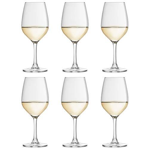 Copa de vino Varna de Libbey - 250 ml - 6 unidades - forma clásica - resistente al lavado en lavavajillas