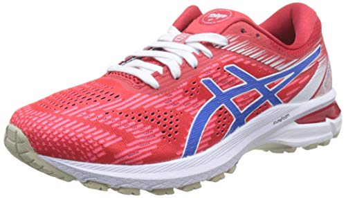 ASICS Herren 1011A773-600_43,5 Trail Running Shoe, red, 43.5 EU