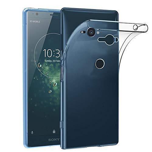 ebestStar - kompatibel mit Sony Xperia XZ2 Compact Hülle Handyhülle [Ultra Dünn], Premium Durchsichtige Klar TPU Schutzhülle, Soft Flex Silikon, Transparent [Phone: 135 x 65 x 12.1mm, 5.0'']