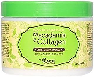 Macadamia & Collagen Tratamiento de Colageno para el Pelo - Mascarilla Hidratante 450g