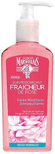 Le Petit Marseillais Gelée Micellaire Démaquillante Fraîche Rose Pompe 200 ml
