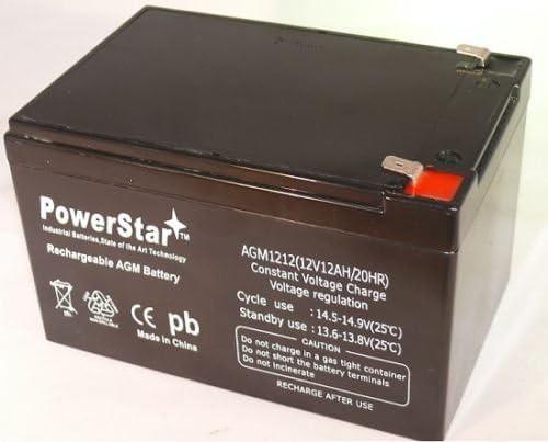 PowerStar RBC4 RBC 4 Battery Pack APC UPS BackUPS Pro 650M 650 BK650 BP650 BE650 UB12
