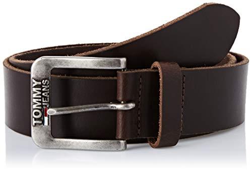 Tommy Jeans Hilfiger Denim Tjm Classic Belt 4.0 Cintura, Beige (Testa Di Moro 254), 5 (Taglia Produttore: 85) Uomo