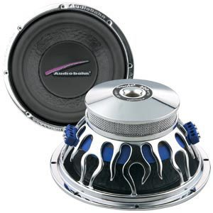 Great Features Of Audiobahn AW831T, 20cm (8″) Natural Sound Subwoofer, 200W RMS