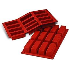 resina epoxi joyer/ía pinzas para medir hojalata 11 moldes cuadrados de silicona rectangulares PandaHall Moldes de silicona para fundici/ón de resina pipetas y punteras de l/átex para manualidades